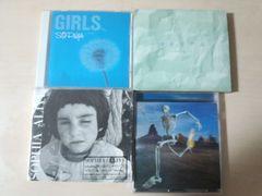 ソフィアCDアルバム4枚セットSOPHIA進化論マテリアルALIVE GIRLS