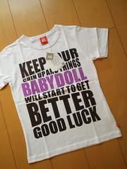 新品Tシャツ140白ベビードールBABYDOLLベビド