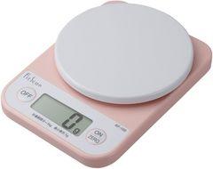 タニタ デジタルクッキングスケール (1kg) ピンク