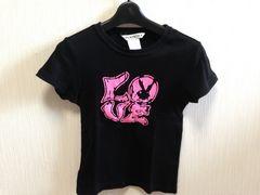 PLAY BOY半袖黒色ブラックTシャツ