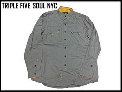 新品 Triple 5 Soul 長袖シャツ 90代B系ヒップホップ XL