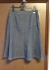 日本製コットン素材フレアースカート