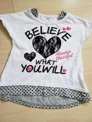 女児Tシャツ110