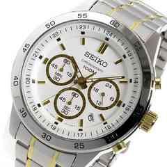 送料無料!セイコー クオーツ クロノ メンズ 腕時計 SKS523P1