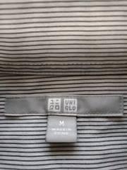 ユニクロ 長袖ストライプシャツ 定形外250