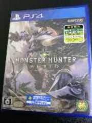 初回生産・限定特典版PS4ソフト[モンスターハンター:ワールド]新品・未開封