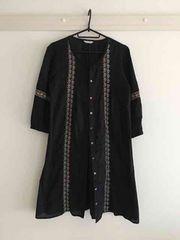 【送料込】ジャーナルスタンダード購入*刺繍ワンピ*羽織り