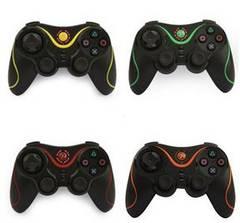 PS3対応 ワイヤレスコントローラー Bluetooth オレンジb