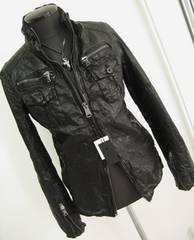427■新品Lトルネードマートレザージャケットライダース黒