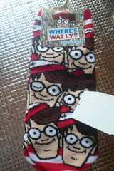 ウォーリーを探せ靴下B 23〜25 新品