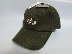 ★Alpha Industries アルファ キャップ 帽子 ウール