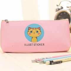 かわいい 猫ちゃん ペンケース ピンク 1/AO3
