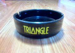 焼酎「TRIANGLE」トライアングル 陶磁器製灰皿 非売品