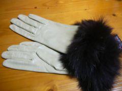 GEORGE MORAND(ジョルジュ モラン) フォックスファー羊手袋