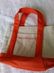 新品 帆布オレンジミニトートバッグ 定形外250