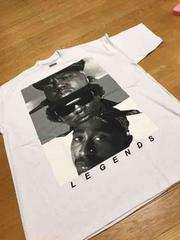 LA直輸入 2pac&biggyプリントTシャツ サイズ2XL XXL白 z�B�@
