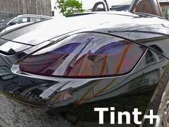 Tint+水洗→再利用OK ボクスター 987 前期 テールランプ スモークフィルム