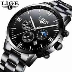 腕時計 メンズ  ブラック