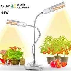 植物育成ライト 2019最新版45W 88個LED電球