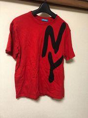 半袖Tシャツ/NY/レッド/赤/M/ダンス/衣装