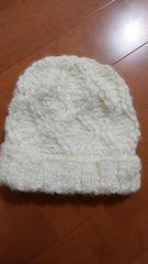 モコモコ ニット帽