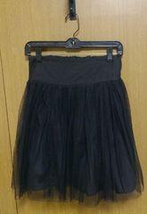�@韓国ShowRoomチュールスカート 黒