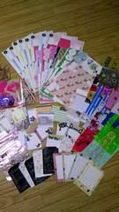 ◆たくさん雑貨詰め合わせ◆フェリシモなど♪組み立てボックスメモ帳ミニ袋