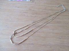 ロペピクニック/Rope Picnic アクセサリー2連ネックレス 美品