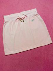 レディー Rady キラキラビジュー付きベロアスカート 新品 ピンク
