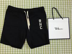 新品 ロンハーマン RHC スウェットショーツ Sサイズ ブラック