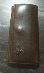 ヴィヴィアンウエストウッド茶色革製4連キーケース
