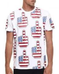 AN37HUDSON NYC UP YOURSデザインTシャツ半袖XL