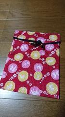 和柄☆桜,兎,うさぎ,満月,巾着袋