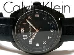 極レア 1スタ★カルバンクライン/CK【スイス製】大型 腕時計