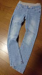ウエストゴム☆デニムパンツ/140cm