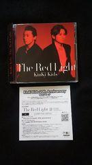 KinKi Kids シングル The Red Light 初回限定盤 DVD 帯付き