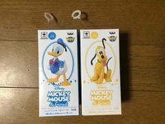 ディズニー コレクタブル『ドナルド&プルート』2種 送料205円