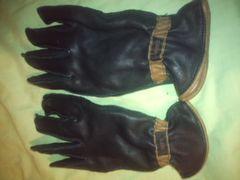 SARANAC鹿革手袋