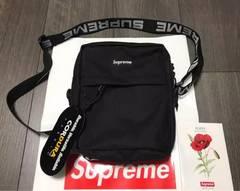 【超人気商品】新作 Supreme 18ss ショルダーバッグ ブラック 黒