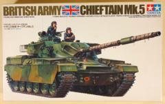 TAMIYA,イギリス戦車チーフテンMk.5,未組み立て