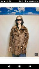 大注目商品最高級毛皮 デザインラム毛皮 美品 定価30万
