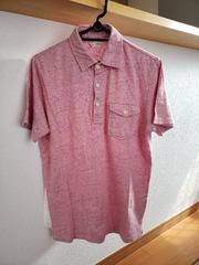 BACK NUMBER バックナンバー 半袖シャツ ポロシャツ ピンク M