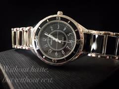 激レア合金シャネルJ12インスパイアBLACK MODEL腕時計