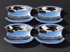 クロームメッキドアハンドルカバー皿 E91 320i325i335i ワゴン