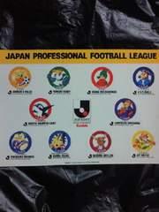 日本 サッカー Jリーグ 初代 チーム キャラクター マスコット 10チーム シール