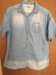 美品 ニコルクラブ 179 WG デニムシャツ ダンガリーシャツ M 38