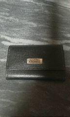 バーバリーブラックレーベル黒革製5連キーケース