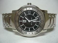 ブルガリ  美品   ソトテンポ  ST35S  メンズ  時計