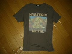 HYSTERIC GLAMOURヒステリックグラマーTシャツSカットソーMOTEL