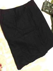 巻きスカート  サイズM  ブラック